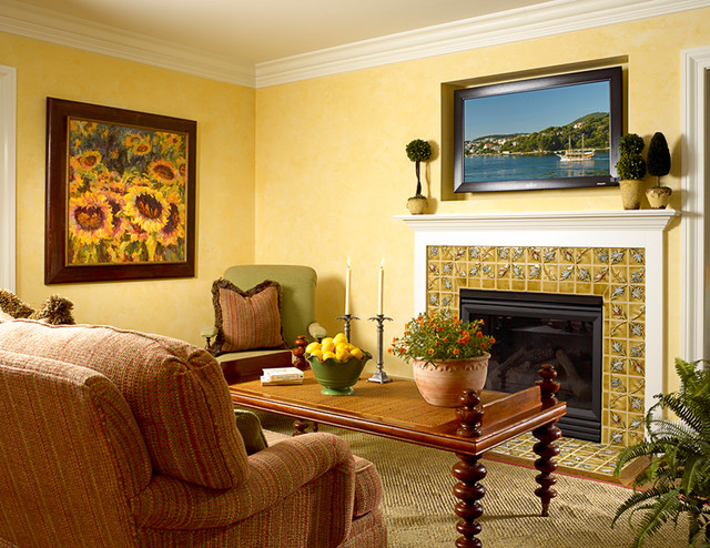 Historic Character / Modern Functionality traditional-family-room
