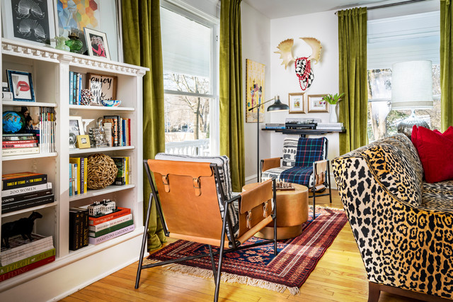 Historic House with Color and Style eclectic-family-room