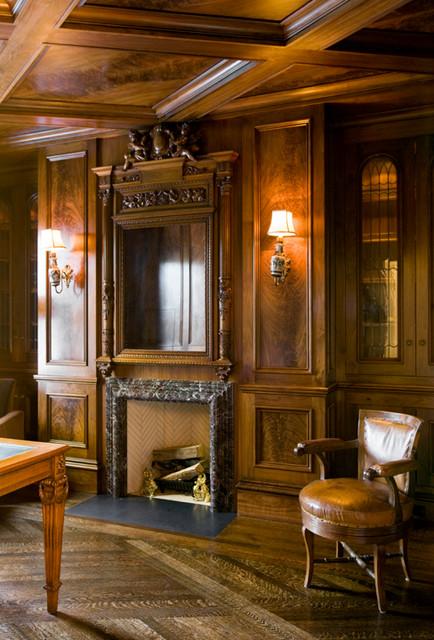 Historic Restoration traditional-family-room