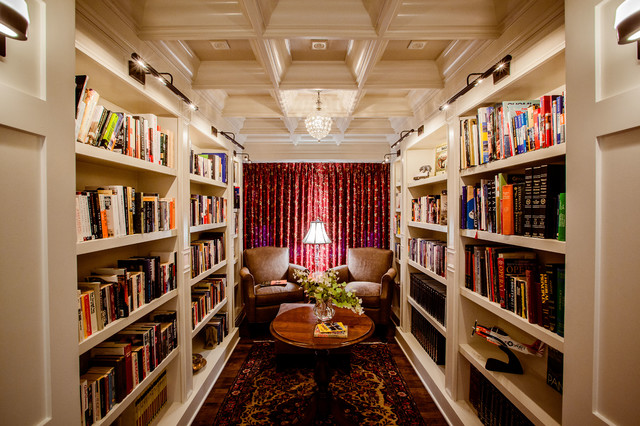 library lighting. Home Designs Traditional-family-room Library Lighting A