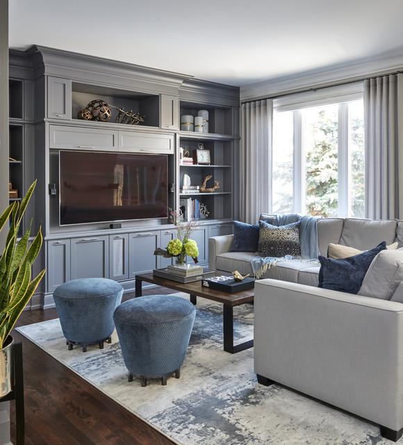 Home In Maple Klassisch Modern Wohnzimmer