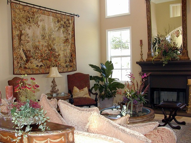 Home Staging LA mediterranean-family-room