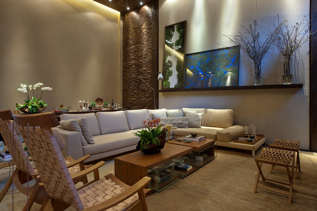 Home theater contemporary-family-room