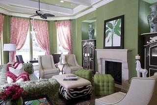 Houston Estate eclectic family room
