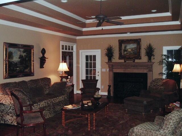 Howard Custom Builders family-room