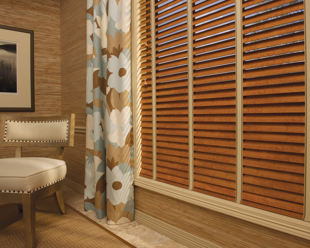Hunter Douglas Eclectic Window Treatments and Draperies eclectic-family-room