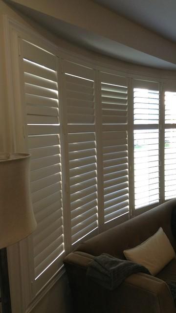 Hunter Douglas Palm Beach Shutters Bow Window