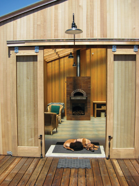 Indoor Wood Fired Pizza Ovens - Modern - Family Room - San Francisco ...
