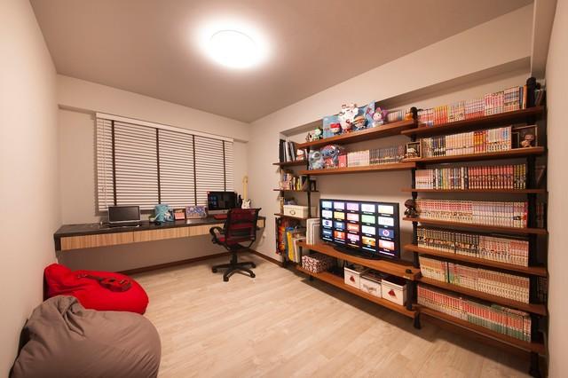 industrial design yishun hdb 4 room. Black Bedroom Furniture Sets. Home Design Ideas