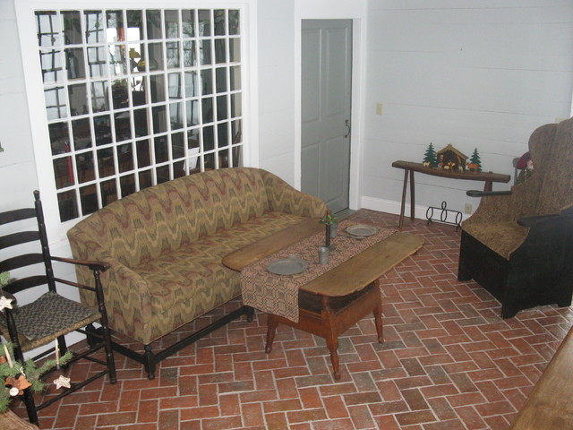 Inglenook Tile Design traditional-family-room