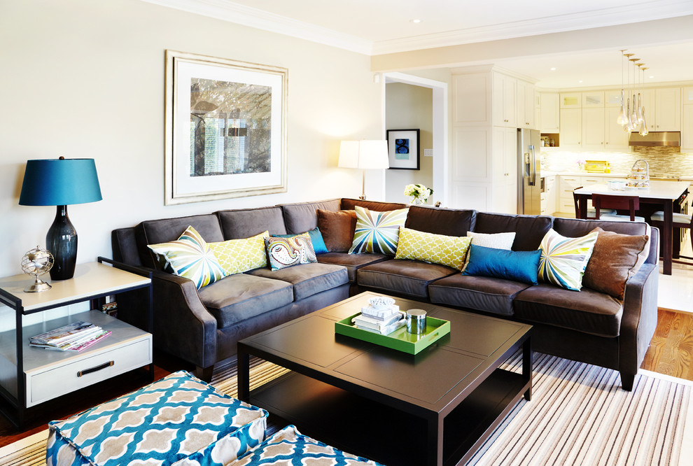 Interior Design And Decorating Traditional Family Room Toronto By Sealy Design Inc