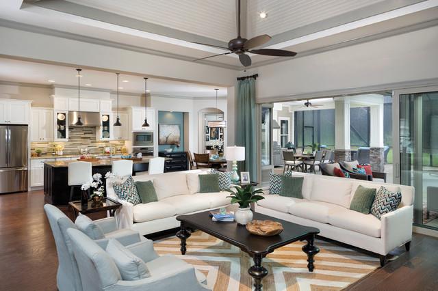 Interior Design Pensacola Florida Model Home 1226