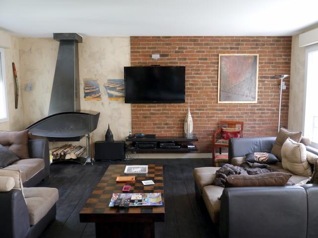 Interior Designer New York   Interior Designer NYC   Interior Decorator New  York Industrial Wohnzimmer