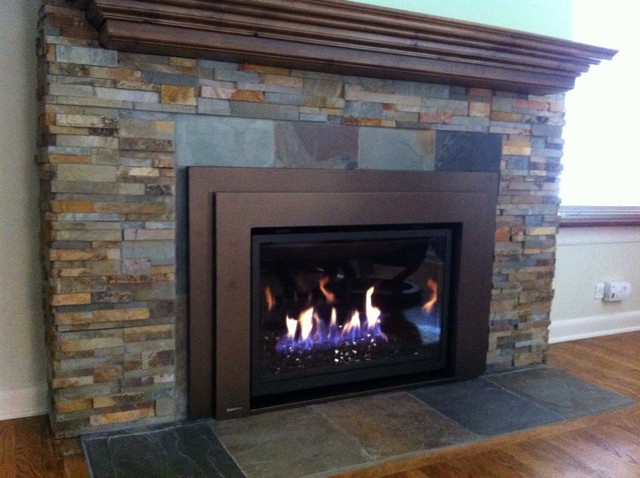 Interior Fireplace Refinish Family Room Chicago By J