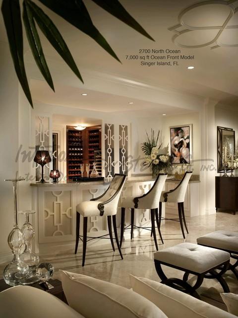Interiors By Steven G Contemporary Family Room Miami