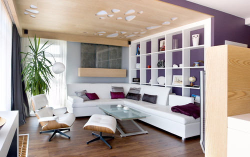 Interiors design contemporary family room