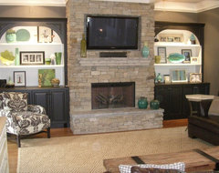 Interiors- Fireplace eclectic-family-room