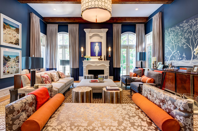 Interiors family room atlanta by mary powell photography for Living room 528 powell street