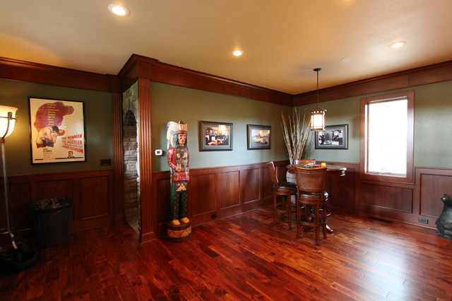 Irish Pub Addition Traditional Family Room Other