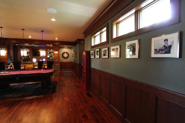 Irish Pub Addition Traditional Family Room Other