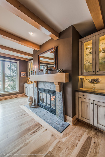 Isabelle Renovation / Custom Millwork, Lafayette, CO contemporary-family-room