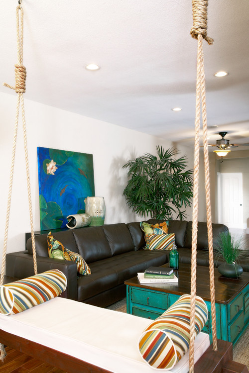 Schriever Residence eclectic family room