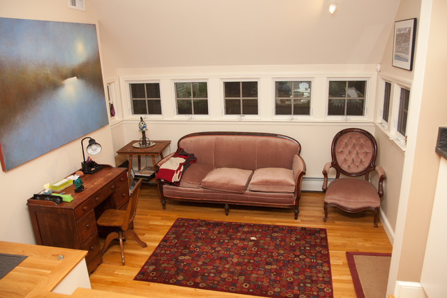 Jamaica Plain – Addition, Garage, Master Suite traditional-family-room