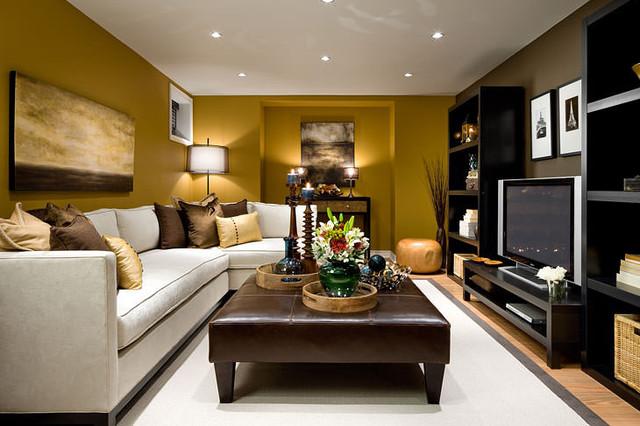 Jane Lockhart Basement Family Room   Modern   Family Room ...