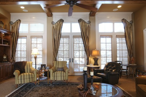 Http Www Houzz Photos 4114400 Janet S Project Leawood Ks Traditional Family Room Kansas City