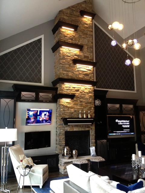 Jarrett - contemporary - media room - charlotte - by SpartaCraft ...