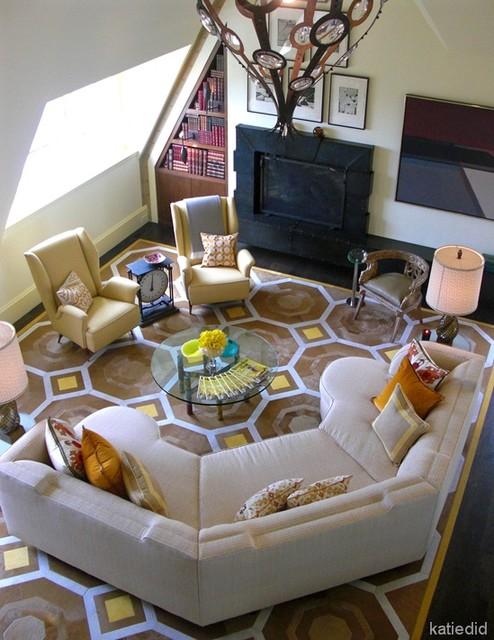 Jay Jeffers modern-family-room