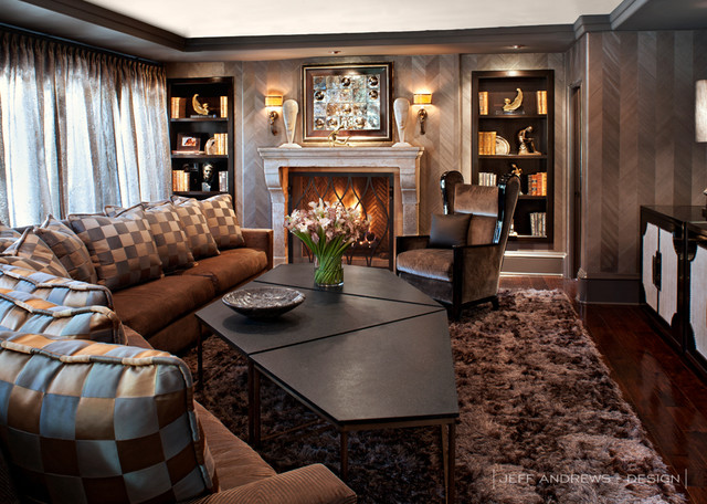 Jeff Andrews   Design Contemporary Family Room