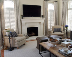 Jenkins Baer Associates traditional family room