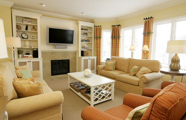 Decor by jennifer Inc traditional family room