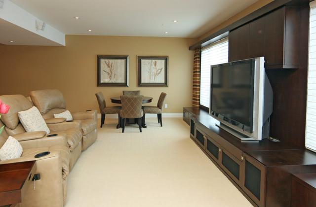 Jennifer Brouwer Design Inc Contemporary Family Room