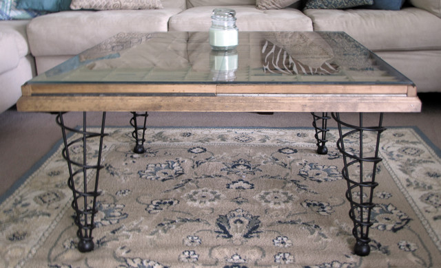 Customer built Collection Table modern-family-room