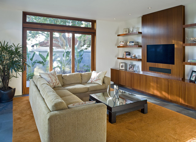 jewell - living space modern-family-room