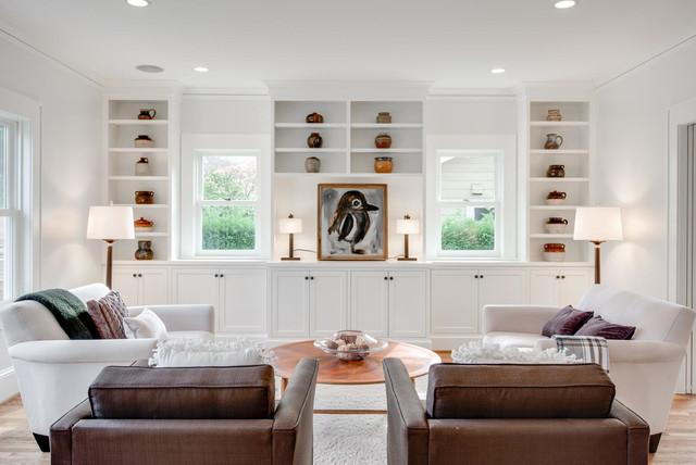 JIM ARNAL SIGNATURE HOME # 1 - NE 45TH & SISKIYOU craftsman family room