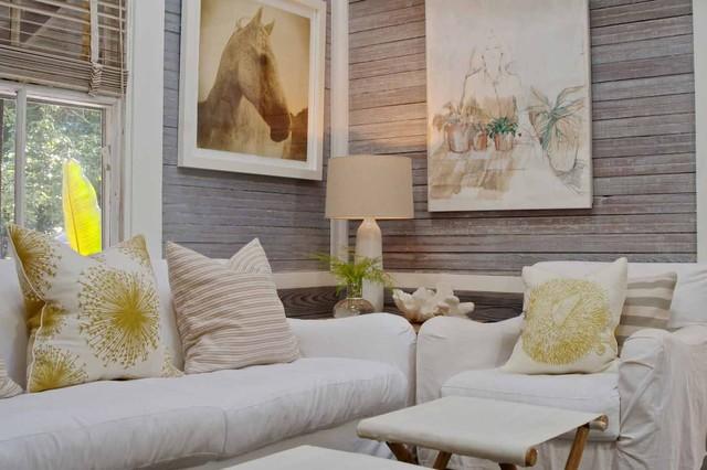 Julia Starr Sanford Amelia Island Fl Beach Style Family Room Jacksonville By Pearl Home