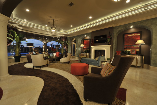 The wow factor traditional interior design jamil for Traditional eclectic living rooms