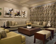Kenmore Family Room contemporary-family-room