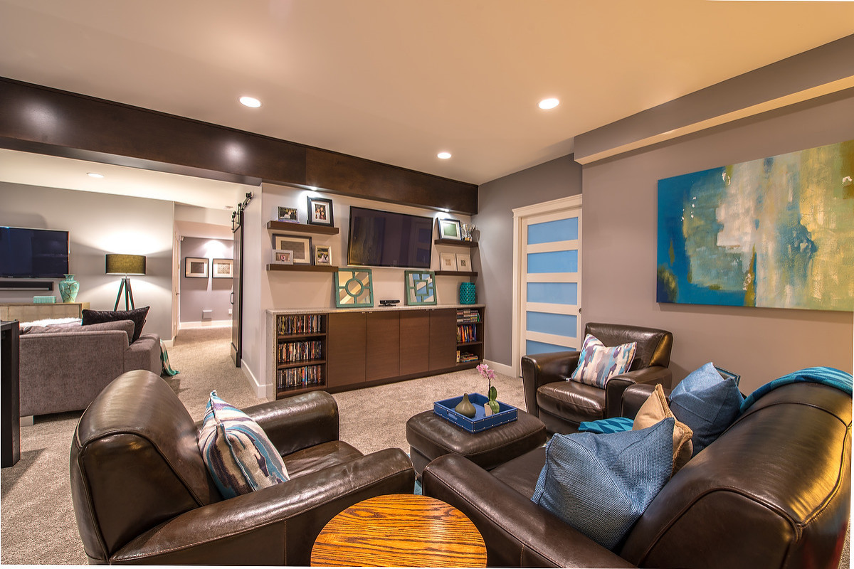 75 Beautiful Modern Game Room Pictures Ideas February 2021 Houzz