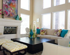 Khans Family Room contemporary family room