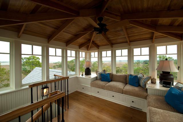 Kiawah Island Preserve Riverfront traditional-family-room