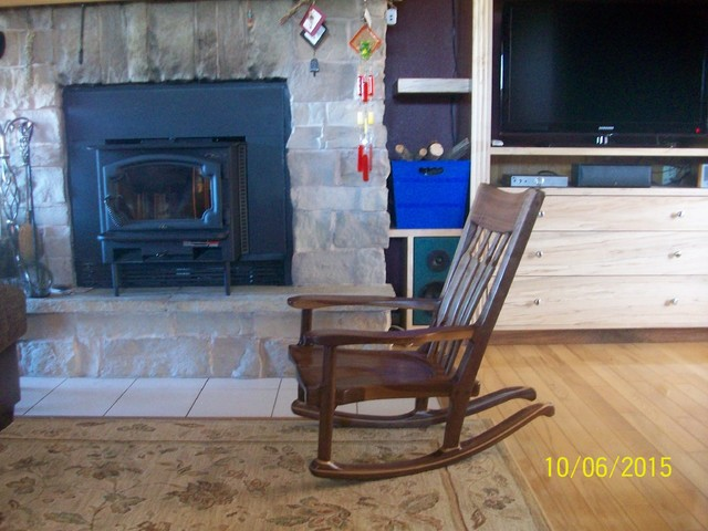 Kids Rocking Chairs - Craftsman - Family Room - Other - by Mullins ...