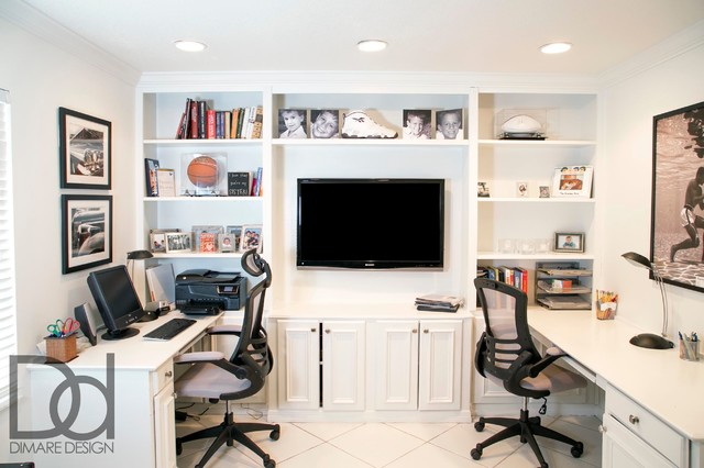 Kids Study And Playroom Space