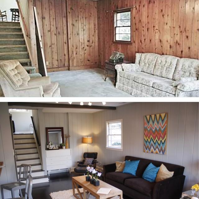 Kilborne Whole-house remodel contemporary-family-room