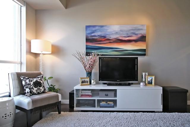 King West Loft contemporary-living-room