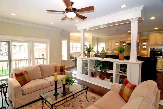 Kipnis Architecture + Planning traditional-family-room