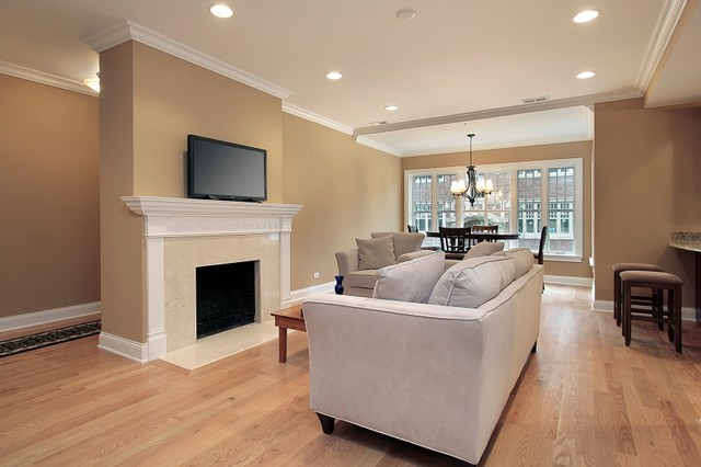 Family room - traditional family room idea in Los Angeles